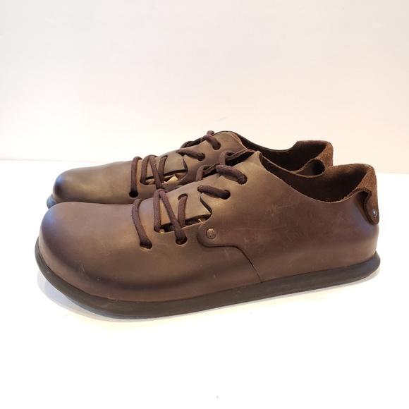 dolor navegador violación  Birkenstock Shoes | Rare Birkenstock Montana Size 4 Brown Lace Up | Poshmark